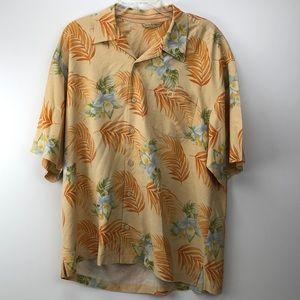 Tommy Bahama Button Down Hawaiian Floral Shirt